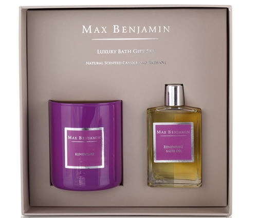 Max Benjamin Набор Renewing Luxury Bath Gift